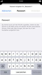 Apple iPhone 8 - iOS 13 - WLAN - Manuelle Konfiguration - Schritt 6