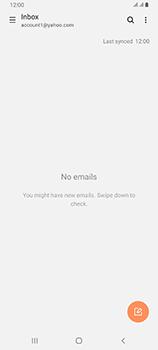 Samsung Galaxy A80 - E-mail - 032b. Email wizard - Yahoo - Step 10