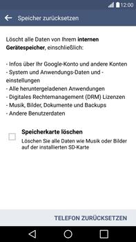 LG G4 - Fehlerbehebung - Handy zurücksetzen - 9 / 12