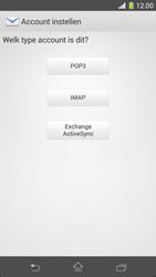 Sony D5503 Xperia Z1 Compact - E-mail - Handmatig instellen - Stap 7