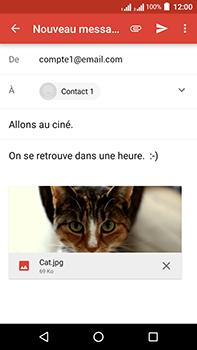 Acer Liquid Zest 4G Plus - E-mail - envoyer un e-mail - Étape 13
