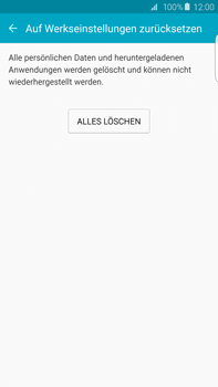 Samsung Galaxy S6 edge+ (G928F) - Gerät - Zurücksetzen auf die Werkseinstellungen - Schritt 7