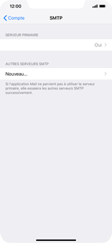 Apple iPhone XR - E-mail - Configuration manuelle - Étape 20