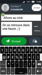 Doro 8031 - Contact, Appels, SMS/MMS - Envoyer un MMS - Étape 15