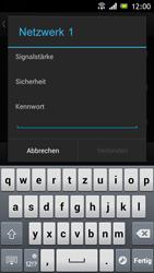 Sony Xperia J - WiFi - WiFi-Konfiguration - Schritt 7