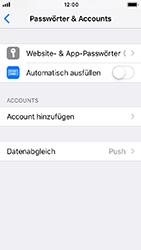 Apple iPhone 5s - iOS 12 - E-Mail - Konto einrichten (yahoo) - Schritt 4