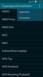 Samsung Galaxy Alpha - MMS - Manuelle Konfiguration - 15 / 19