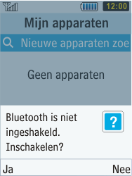 Samsung C3350 Xcover 2 - Bluetooth - koppelen met ander apparaat - Stap 8