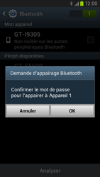 Samsung Galaxy S III LTE - Bluetooth - Jumelage d