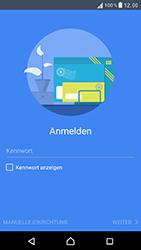 Sony Xperia XZ - E-Mail - Konto einrichten - 8 / 25