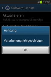 Samsung Galaxy Fame Lite - Software - Installieren von Software-Updates - Schritt 9
