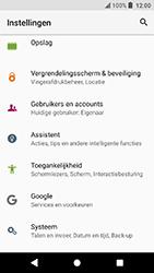 Sony Xperia X Compact (F5321) - Android Oreo - Toestel - Fabrieksinstellingen terugzetten - Stap 5