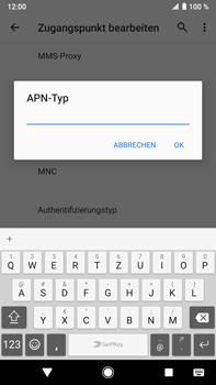 Sony Xperia XZ2 Premium - Android Pie - MMS - Manuelle Konfiguration - Schritt 14