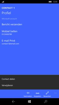 Microsoft Lumia 950 XL - Contactgegevens overzetten - delen via Bluetooth - Stap 6