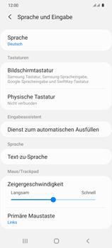 Samsung Galaxy S20 5G - Startanleitung - So fügen Sie eine Tastatursprache hinzu - Schritt 6