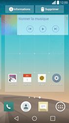 LG Spirit 4G - Prise en main - Installation de widgets et d