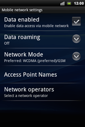 Sony Xperia Mini Pro - Internet - Manual configuration - Step 6