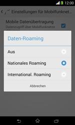 Sony Xperia E1 - Ausland - Im Ausland surfen – Datenroaming - Schritt 9