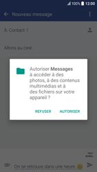 HTC 10 - Contact, Appels, SMS/MMS - Envoyer un MMS - Étape 14