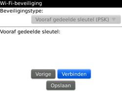 BlackBerry 9300 Curve 3G - wifi - handmatig instellen - stap 9