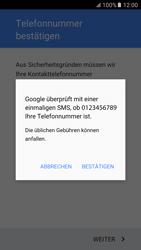 Samsung Galaxy S6 - Apps - Konto anlegen und einrichten - 9 / 21