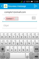 Alcatel Pixi 3 Dual Sim - E-mails - Envoyer un e-mail - Étape 8