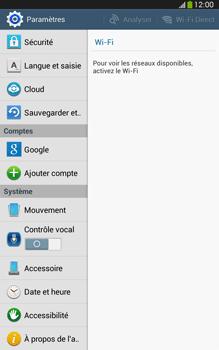 Samsung Galaxy Tab 3 8-0 LTE - Téléphone mobile - Réinitialisation de la configuration d