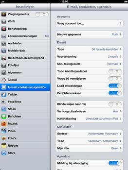 Apple The New iPad - E-mail - handmatig instellen - Stap 4