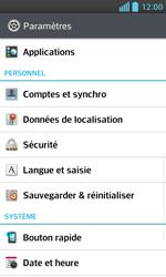 LG Optimus L5 II - Sécuriser votre mobile - Personnaliser le code PIN de votre carte SIM - Étape 4