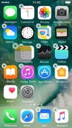 Apple iPhone 5s iOS 10 - Prise en main - Personnalisation de votre écran d