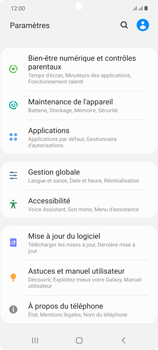 Samsung Galaxy Note20 - Applications - Supprimer une application - Étape 4