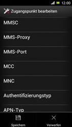 Sony Xperia J - MMS - Manuelle Konfiguration - Schritt 14