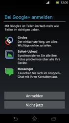 Sony Xperia T - Apps - Einrichten des App Stores - Schritt 11