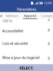 Alcatel 3088X - Aller plus loin - Mettre à jour le logiciel interne de votre mobile - Étape 5