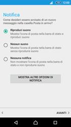 Sony Xperia Z5 - E-mail - configurazione manuale - Fase 20