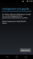 Sony Xperia T - Apps - Einrichten des App Stores - Schritt 7
