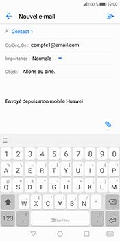 Huawei P Smart - E-mails - Envoyer un e-mail - Étape 9