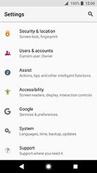 Sony Xperia XA2 - Device - Factory reset - Step 5