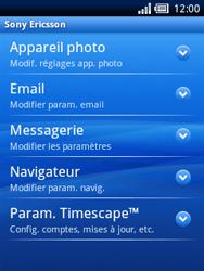 Sony Ericsson Xperia X10 Mini Pro - E-mail - configuration manuelle - Étape 9