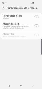 Samsung Galaxy S10e - Internet et connexion - Utiliser le mode modem par USB - Étape 6