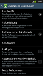 Samsung Galaxy S4 LTE - Anrufe - Rufumleitungen setzen und löschen - 7 / 12