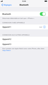 Apple iPhone 6 Plus - iOS 12 - Bluetooth - connexion Bluetooth - Étape 8