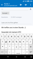 HTC One M9 - E-Mail - E-Mail versenden - 0 / 0