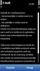 Nokia C7-00 - e-mail - handmatig instellen - stap 6