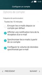 Huawei Y5 - E-mail - configuration manuelle - Étape 19