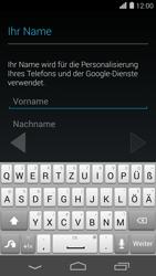 Huawei Ascend P7 - Apps - Konto anlegen und einrichten - 4 / 21