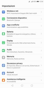 Huawei Y7 (2018) - Internet e roaming dati - Come verificare se la connessione dati è abilitata - Fase 3