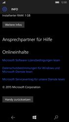 Microsoft Lumia 650 - Fehlerbehebung - Handy zurücksetzen - Schritt 8
