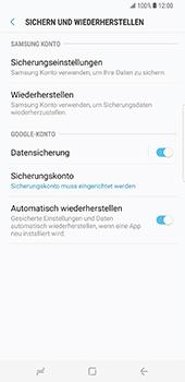 Samsung Galaxy S8 Plus - Datenschutz und Sicherheit - Samsung synchronisieren - 6 / 11