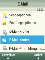 Samsung F480-TouchWiz - E-Mail - Konto einrichten - Schritt 13